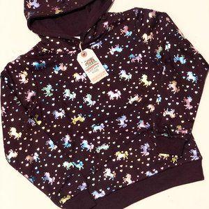 Brand new Reflex Kids Unicorn hooded jumper